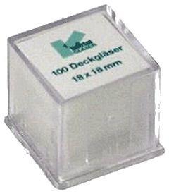 Покривни стъкла за микроскопски препарати 100 броя