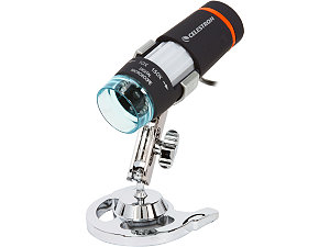 Дигитален ръчен микроскоп Deluxe HDM II 10-40-150х осветление LED