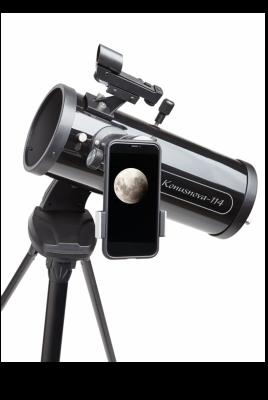 telescope KONUSNOVA-114 with smartphone adapter