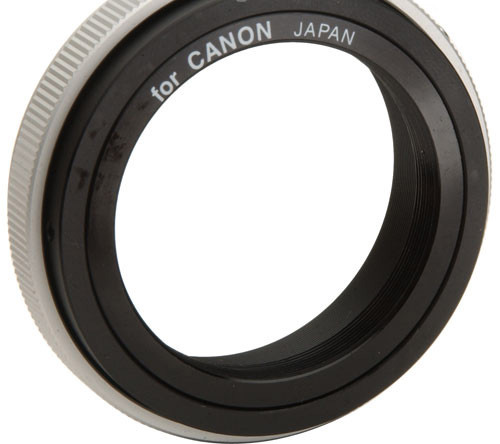 Andromeda Ltd  > T-2 T-Mount SLR Camera Adapter for Canon FD