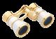 Театрален бинокъл OPERA-43 3x25 CF бял